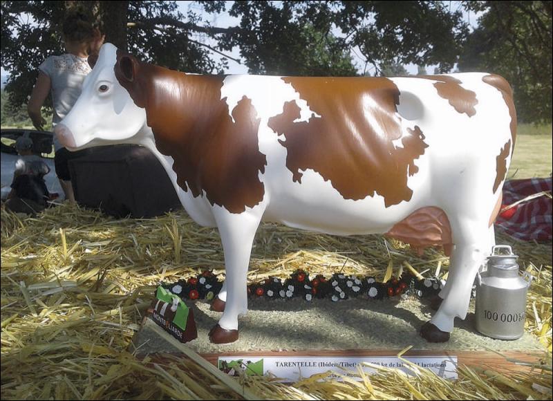Dans le classement des meilleures vaches laitières françaises, quelle place occupe-t-elle ?