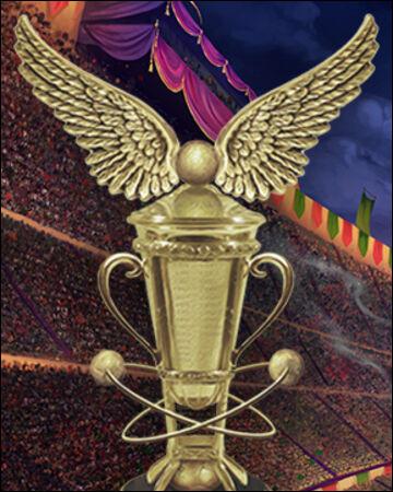 Quel objet est le portoloin qui emmène les Weasley et les Diggory (+ Harry et Hermione) à la Coupe du Monde de quidditch ?