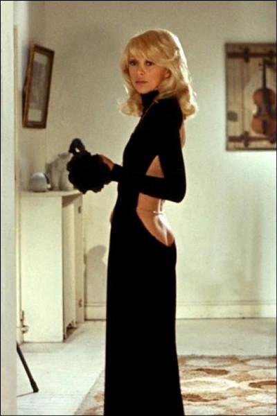 Dans quel film jouait cette belle blonde ?