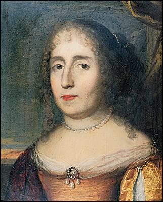 """Cette femme de lettres, rattachée au mouvement précieux, qui a lancé son salon littéraire au milieu du XVIIe siècle, est l'auteur de longs romans galants dont C'est dans """"Clélie, histoire romaine"""" que figure la fameuse """"Carte de Tendre"""". C'est ..."""