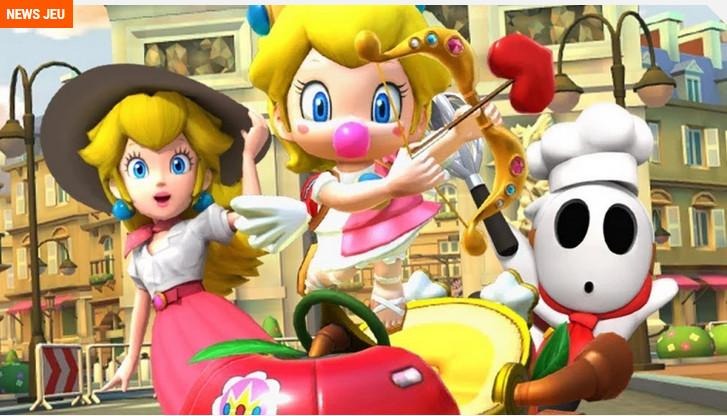 Mario Kart Tour - Personnages