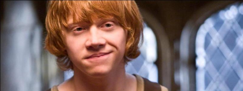 Combien Ron a-t-il de frères et sœurs ?