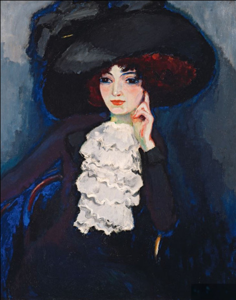 """Quel peintre a réalisé """"Femme au chapeau"""" ?"""
