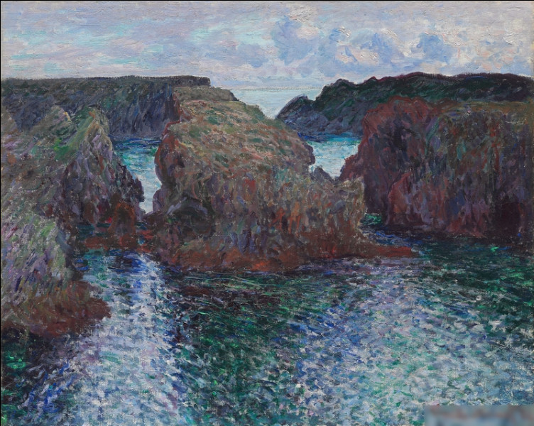 """""""Paysage à Port-Goulphar"""" est l'oeuvre de quel peintre ?"""