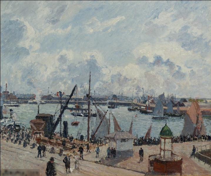 """Qui a réalisé le tableau """"L'avant-port du Havre"""" ?"""