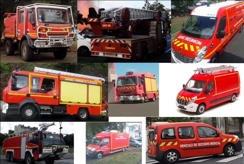 Citez les engins dont dispose la caserne de pompiers :