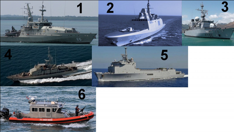 """À quelques kilomètres de là, notre base navale possède des navires. Deux d'entre-eux ont la particularité d'apparaître dans la série """"Sea Patrol"""". Lesquels ?"""