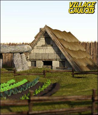 Dans quelle BD un petit village gaulois résiste-t-il à l' envahisseur romain ?