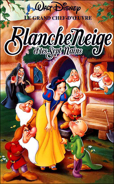 """Quelle est l'année de sortie du Disney """"Blanche-Neige et les 7 nains"""" ?"""