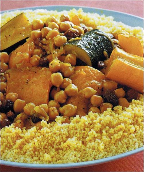 Le couscous est un plat typiquement ...