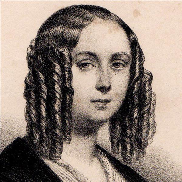 De quel romancier français du XIXe siècle, Louise Colet fut-elle la maîtresse ?