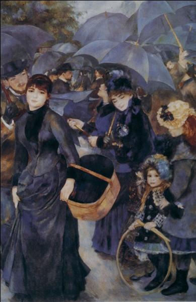"""De qui est ce tableau célèbre intitulé """"Les Parapluies"""" ?"""