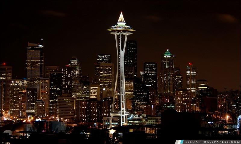 Space Needle : glissez sur The Loupe, le seul sol en verre rotatif au monde. Pour observer des vues sans pareilles de la structure et de la ville, découvrez 2 nouveaux niveaux de fortes vibrations : un plancher tout en verre en bas et une terrasse en plein air au-dessus.Nommez la plus grande ville du Nord-Ouest des États-Unis :