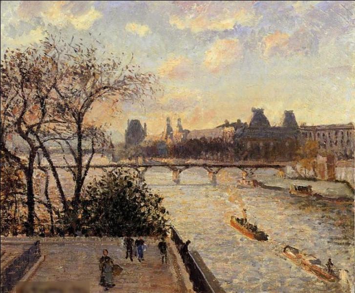 """Qui a réalisé le tableau """"Vue du Pont-Neuf et du Louvre"""" ?"""