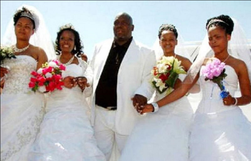 Quel est le fait pour un homme d'avoir plusieurs épouses à la fois ?