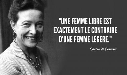 On a beau dire, on a beau faire, on a Beauvoir !