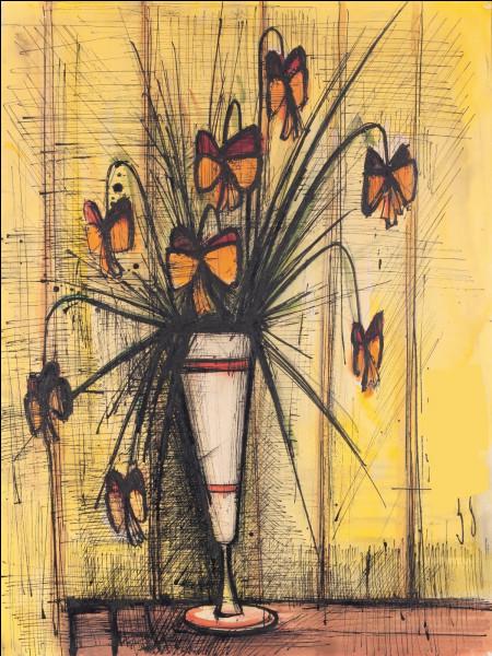 """À qui doit-on """"Bouquet de fleurs papillons"""" ?"""