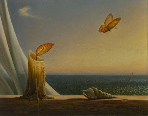 """Qui a peint """"La Bougie et le papillon"""" ?"""