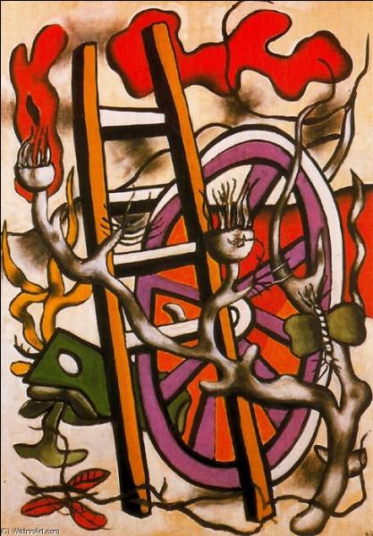 """Qui est le peintre du """"Papillon sur la roue"""" ?"""