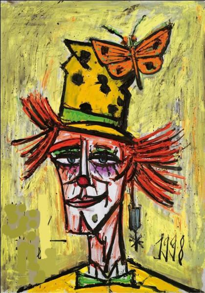 """Qui a réalisé """"Le Clown au papillon"""" ?"""