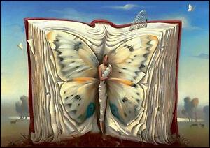"""À qui appartient """"Papillon mère dans un livre"""" ?"""