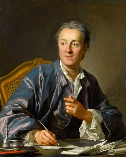 Qui est ce grand écrivain européen portraituré par Van Loo en 1767 ?