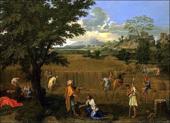 Quelle saison est représentée sur ce tableau de Nicolas Poussin peint autour de 1660 ?