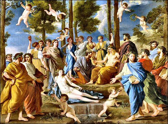Le père des neuf muses était Zeus. Mais qui était leur mère ?
