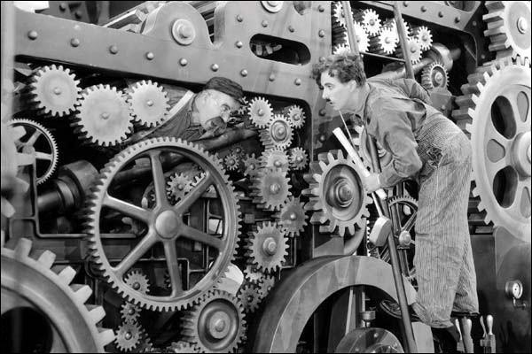 'Les Temps Modernes' est un film célèbre interprété par ...