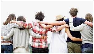 Avec ton groupe d'amis, tu es plutôt :