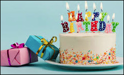 À ton anniversaire, tu :