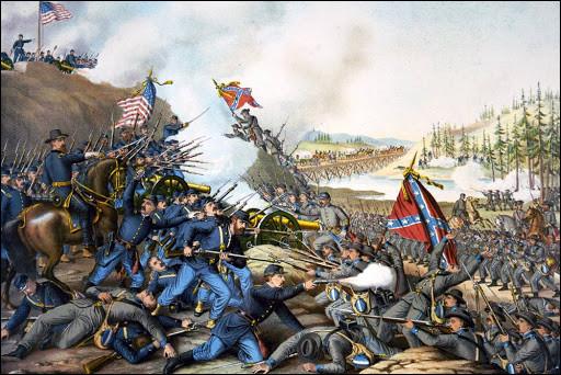 Quelles sont les dates de la guerre de Sécession aux États-Unis ?
