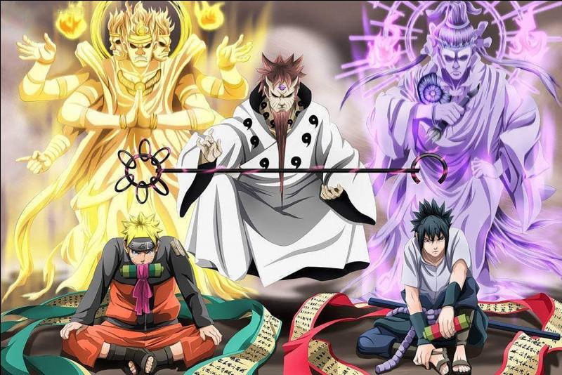 Naruto Shippuden : quelle jutsu Orochimaru a-t-il appris à Sasuke ?(technique en VO)