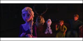 Qu'est-ce qui perturbe Elsa ?