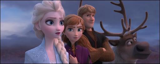 Où décide-t-elle de partir avec Anna, Kristoff, Sven et Olaf ?