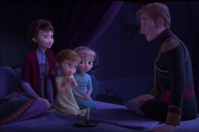 Que découvrent Elsa et Anna sur leurs parents ?