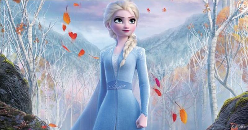 Elsa découvre qu'en réalité elle est...