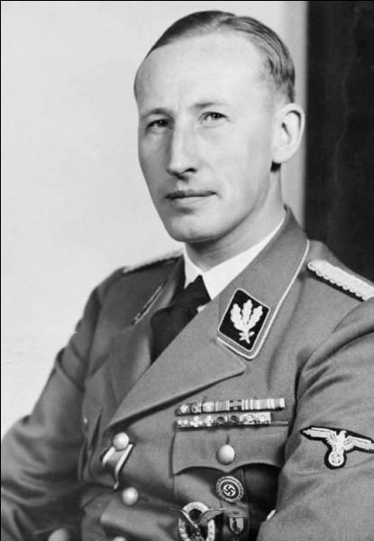 Ce dirigeant nazi, adjoint direct de Himmler dès 1933, directeur de l'Office central de la sécurité du Reich (RSHA), tué le 4 juin 1942 par la résistance tchécoslovaque, se prénomme ...