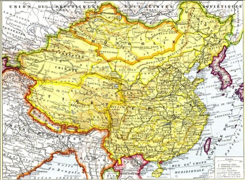 La Chine est aujourd'hui peuplée de 1,4 milliard d'habitants : quelle est sa population en 1920 ?