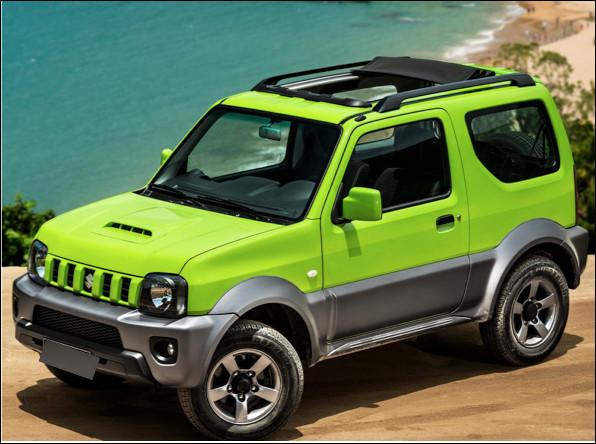 Quel est ce modèle de petit 4x4 produit par le constructeur Suzuki ?