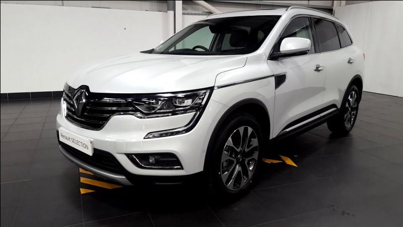 Quel est ce modèle de type SUV produit par le constructeur Renault Samsung Motors ?