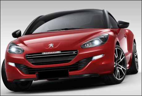 Quel est ce modèle de coupé sportif produit par le constructeur Peugeot ?