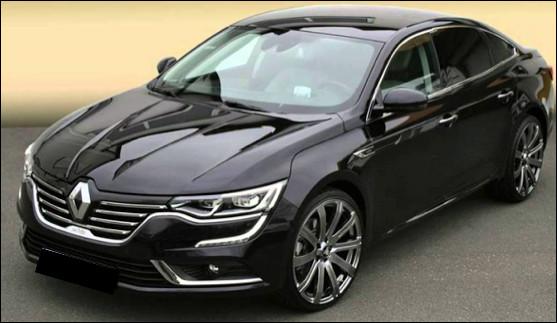 Quel est ce modèle de berline haut de gamme du constructeur Renault ?