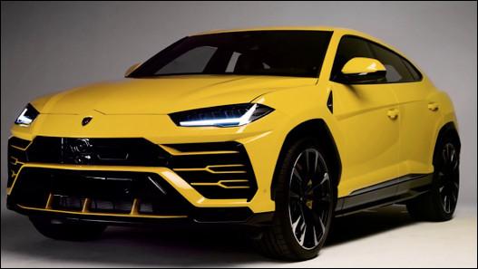 Quel est ce modèle de prestige de type SUV du constructeur Lamborghini ?
