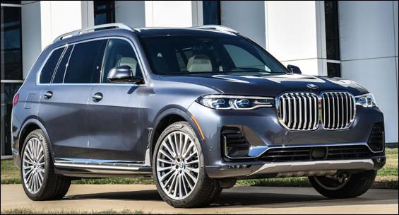 Quel est ce modèle haut de gamme produit par le constructeur BMW ?