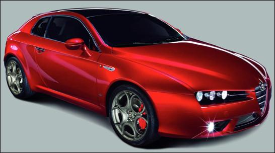 Quel est ce modèle de coupé sportif de la marque Alfa Roméo ?