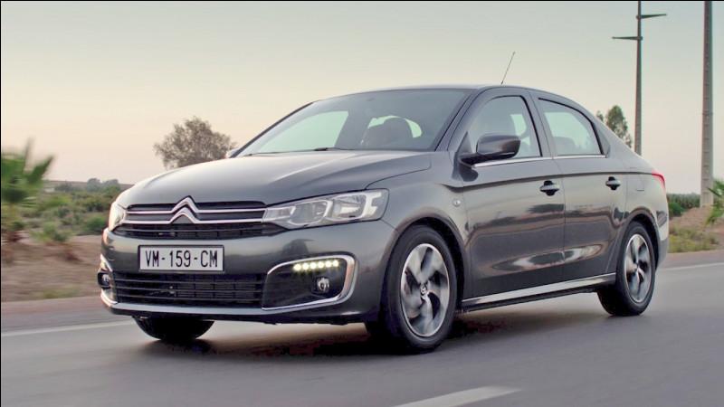 Quel est ce modèle de conception simple, conçu pour les marchés émergents par le constructeur Citroën ?