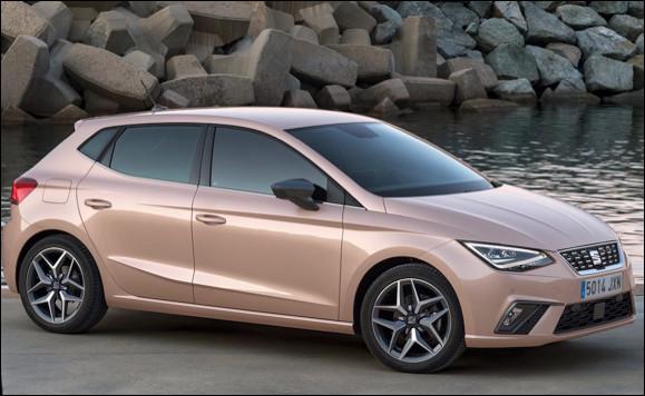 Quel est ce modèle de voiture citadine produit depuis 1984 par le constructeur Seat ?
