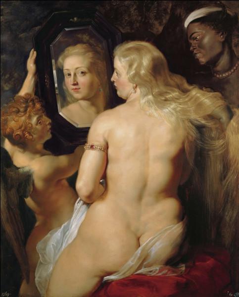 """Quel peintre baroque du XVIIe a réalisé le tableau """"Vénus à son miroir"""" ?"""