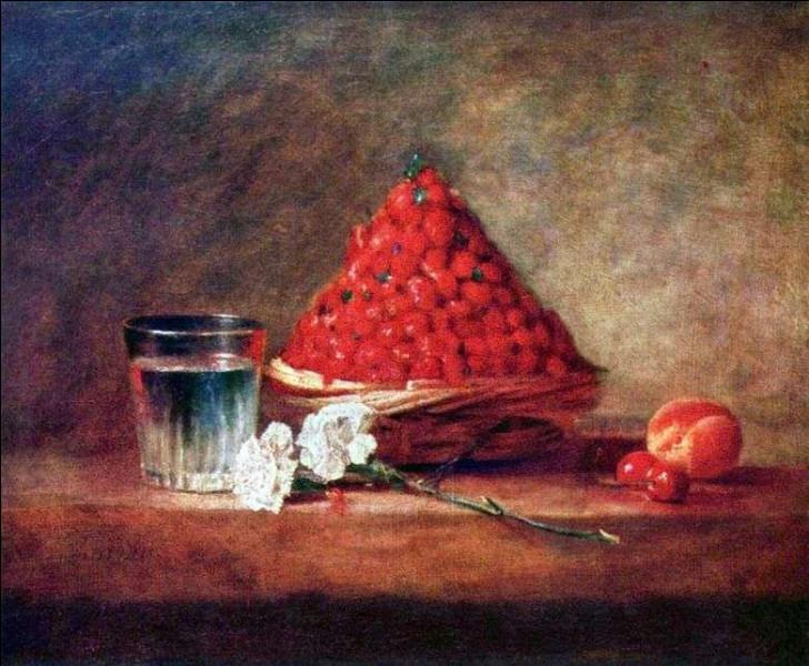 """""""Nature morte aux fraises"""" est l'œuvre de quel peintre ?"""